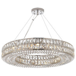 Contemporary Chandeliers by HarrisonLane510