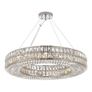 Crystal Spiridon Ring Chandelier Modern/Contemporary Lighting Pendant