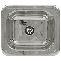 Drop-in Entertainment Sink, Polished Stainless Steel