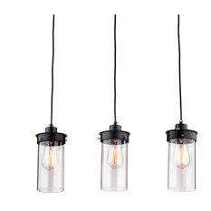 The First Lighting   Eden 3 Light Kitchen Island Pendant   Kitchen Island  Lighting