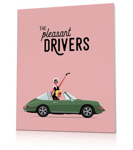 Tableau voiture rétro - Imprimé et Poster