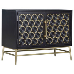 Midcentury Accent Chests And Cabinets by HomeFare