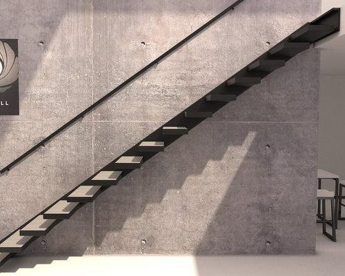 escalier z4 suspendu caisson valchro. Black Bedroom Furniture Sets. Home Design Ideas
