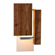 Vesper - LED Wall Sconce, Wood: Oiled Walnut