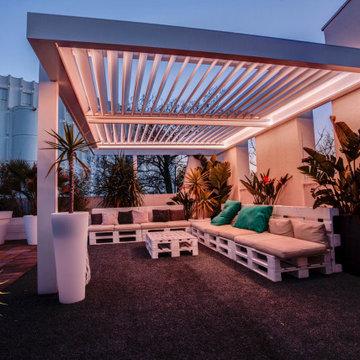 Amenagement terrasse extérieure 150 m2