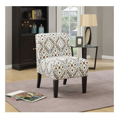 Acme Furniture   ACME Ollano Accent Chair, Blue   Armchairs And Accent  Chairs