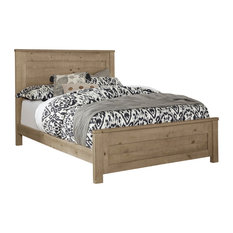 Wheaton Panel Bed, Natural, King