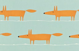Mr. Fox Fabric