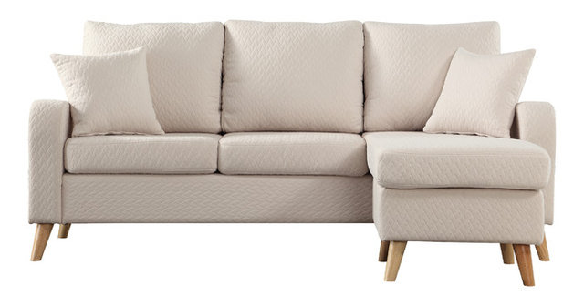Molly Sectional Sofa, Beige