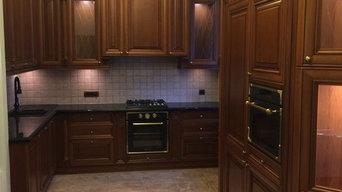 Проект кухни в классическом стиле