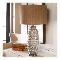 Uttermost Lokni Aged Ivory Table Lamp