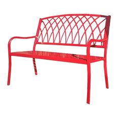 Innova Lancaster Outdoor Steel Bench