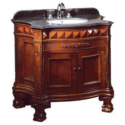 Victorian Bathroom Vanities And Sink Consoles by OVE Decors