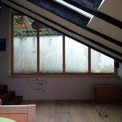 Suche Vorhanglosung Fur Dreiecks Fenster