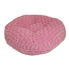 Bessie and Barnie - Bessie and Barnie Bagel Bed for Pets, Cotton Candy, Small - Dog Beds