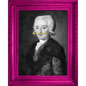 """The Yellow Pencil"" Canvas Print, 138x173 cm"
