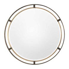 "Uttermost 09332 Carrizo - 36.25"" Round Mirror"
