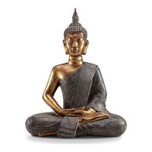 Thoughtful Buddha Garden Sculpture