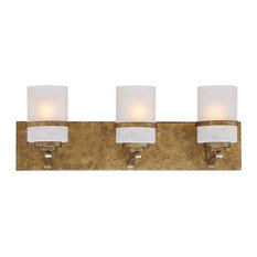Millennium Lighting Benton 3-Light Vanity Light, Gold, Light Scavo, 3303-VG