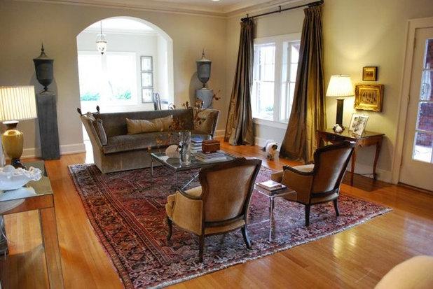 Eklektische Wohnzimmer von Mandi Smith T-Interieur