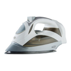 Brentwood Mpi-59W Steam Iron With Retractable Cord, White