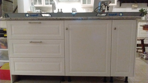 We Are In The Process Of Installing An Ikea Kitchen And Have Just Had The Quartz  Countertops Installed Professionally. We Have Done The Cabinet Installation  ...