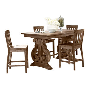 Magnussen Willoughby 5-Piece Rectangular Counter Dining Set