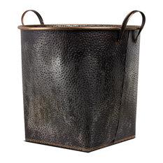 Metal Storage Basket, Large