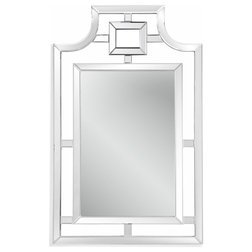Contemporary Wall Mirrors by BASSETT MIRROR CO.