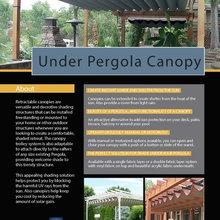 Under Pergola Canopy