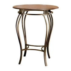 Bowery Hill Round Pub Table, Cherry