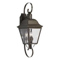 "Progress Lighting P5689 Andover 3 Light 26"" Tall Outdoor Wall - Antique Bronze"