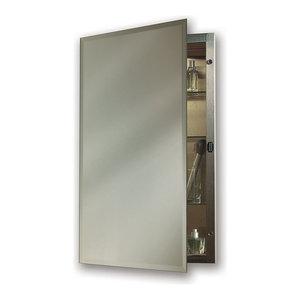 Scallop Top Frameless Medicine Cabinets Contemporary