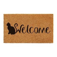 Feline Welcome Doormat