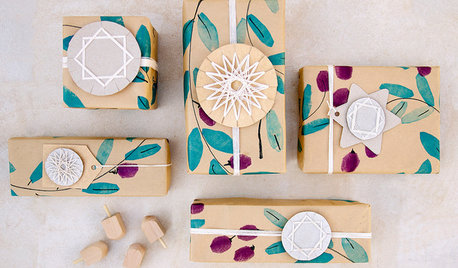 Easy Holiday DIY: Get Wrapped Up in These Geometric Paper Stars