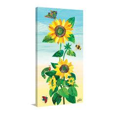 """Sunflower and Bugs 2"" Artwork"