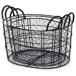 Industrial Baskets by Handcrafted 4 Home
