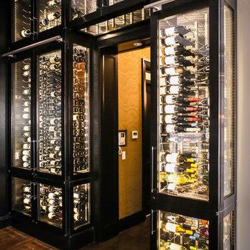 Custom NYC Wine Cabinet
