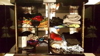 Bedroom Cabinet Organizing