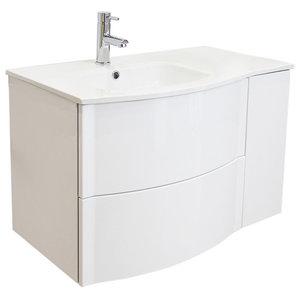 Rony Bathroom Vanity Unit, 80 cm