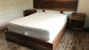 Black walnut Bed frame