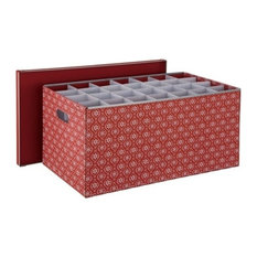 Organize It All - Holiday Ornament Storage Box (56) - Holiday Storage