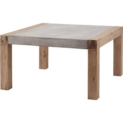 Spectacular Transitional Outdoor Coffee Tables by HedgeApple