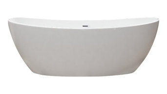 Manhattan Stone Resin Freestanding Tub