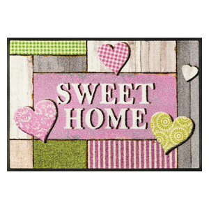 Light Hearts Door Mat, 75x50 cm