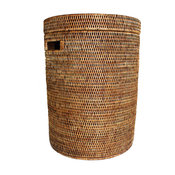 Rattan Laundry Hamper Basket