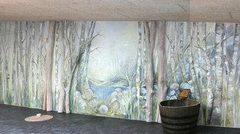 Udsmykning og vægmalerier