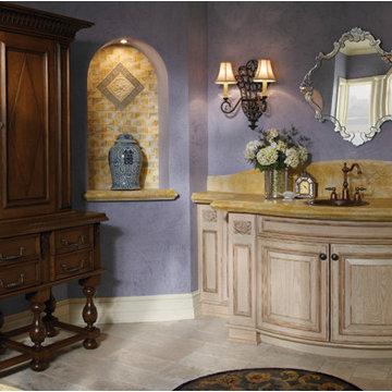 Wood-Mode Looks Bathroom