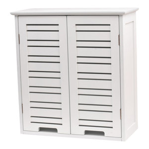 Wall Cabinet 1 or 2 Doors Bath Wall Mounted Storage Bath shelves, Miami