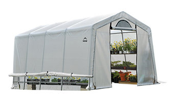 GrowIT Greenhouse-in-a-Box Easy Flow Greenhouse Peak, Style 10'x20'x8'